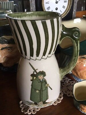 Vintage Rare Royal Doulton Series Ware Watchman Pitcher/Jug England