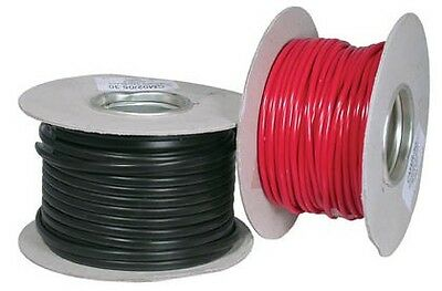 Ocean Flex Tinned Copper Marine Electrical cable 1.5mm 21Amp Black 10 Meters