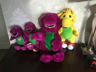 Barney The Dinosaur Bundle 3 Talking Barney And A Yellow One