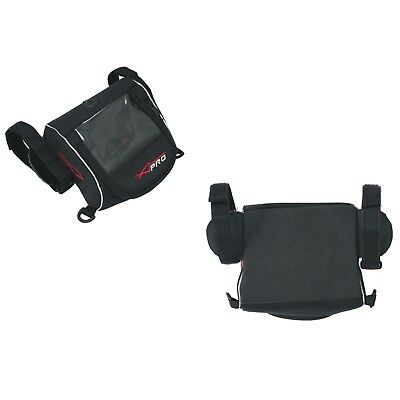 Navigator Pocket Bag Motorcycle Motorbike Cover Waterproof Sat Nav GPS  Black