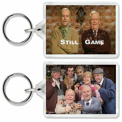 Still Game Tv Show And Dvd Keyring 1 *great Gift* Uk Seller