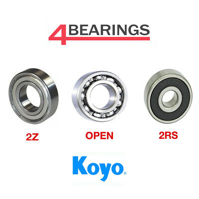 Koyo Bearing 6000 - 6312 Series - Open - 2RS - ZZ - C3 - CM - *Choose your size*
