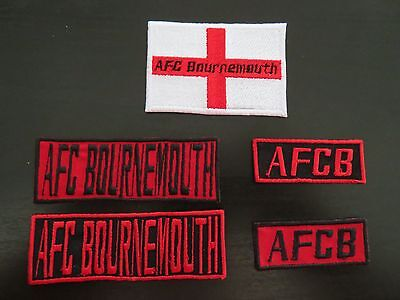 AFC Bournemouth Supporters Embroidered Iron On/Sew On Patch Choice of Designs