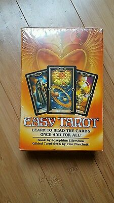 Easy Tarot Pack - Learn to Read the Cards Once and for All! NEW and Sealed