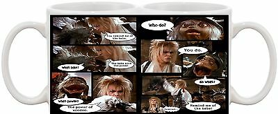 Labyrinth David Bowie Classic Dvd Movie Mug You Remind Me Of The Babe Uk Seller