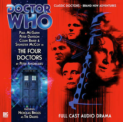 DOCTOR WHO THE FOUR DOCTORS Promo Only Big Finish Audio Book CD MEGA-RARE SEALED