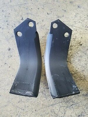 1 Each LH & RH Tines for Woods SGT Model Tiller Part Numbers 100077 & 100078