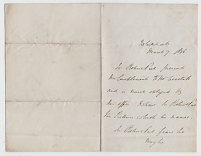 SIR ROBERT PEEL, Prime Minister, Autograph Letter, third person, 1836