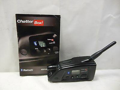 Chatterbox GMRS X1 Bluetooth Intercom Includes Manual No Charger #U2880