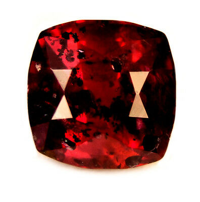 Certified Natural Untreated Unheated Royal Red Ruby 0.80ct Cushion Cut