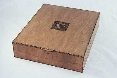 Large Wooden Carcassonne Box