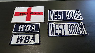 West Brom Supporters Embroidered Iron On/Sew On Patch Choice of Designs