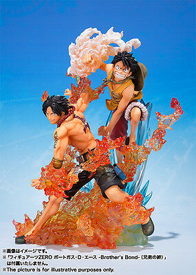 One Piece Figuarts Zero Luffy Ace Set Brother's Bond Figure New Nueva.pre-Order