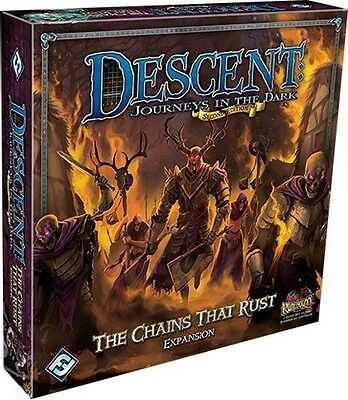Descent Board Game: The Chains That Rust Expansion
