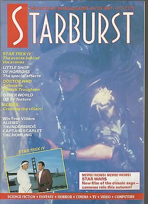 STARBURST MAGAZINE MAY 1987 # 105 STAR TREK - ANDREW McCARTHY - ALIENS -