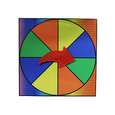 Prize Wheel Party Game Spinner Customize with Dry Erase or Washable Marker