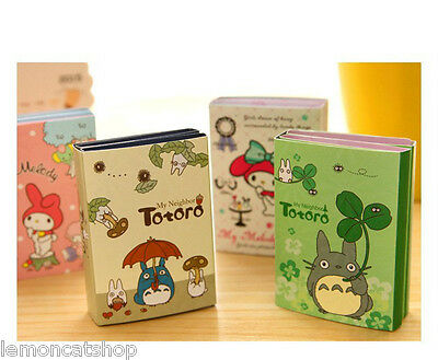 TOTORO My MELODY sticky notes 12pc set kawaii cartoon planner note pad cute memo