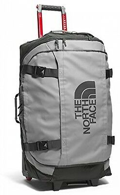 The North Face Rolling Thunder 19 Carry on Bag Zinc Grey Duck Green 49 cm Travel