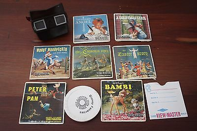 Hard to get - 3D Bakelite View Master Bundle with Story Sets Easter Christmas
