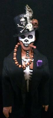 Baron Samedi Voodoo Loa of the Dead~ OOAK Barbie Ken doll detailed version