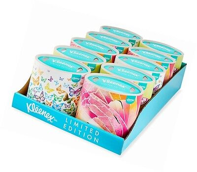 Kleenex Collection Oval Tissues 10 Box Pack 560 Tissues FSC Mix Limited Edition