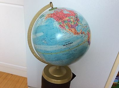 "Vintage Replogle World Nation Series Raised Relief Globe 12"" USSR Russia"