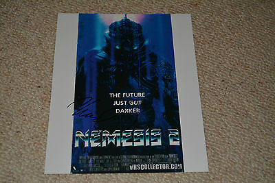 CHAD STAHELSKI signed autograph In Person 8x10 (20x25 cm)  NEMESIS Nebulba
