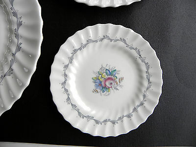 "CHELSEA ROSE by ROYAL DOULTON ~  BONE CHINA ~ 6"" BREAD & BUTTER PLATE(s) ......&"