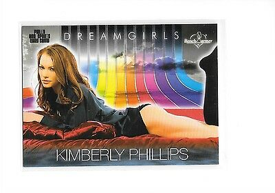 2015 Benchwarmer Dreamgirls Kimberly Phillips Philly Non Sports Card Show Promo