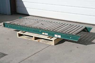 """Alvey Gravity Roller Conveyor Section with Rollers 84"""" Long x 25"""" Wide"""