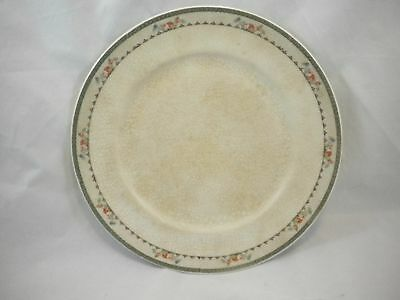 Antique Advertising Dinner Plate Haines and Stoltz Store Pinkstaff IL Flowers