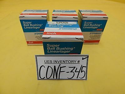 Thomson Industries SUPER20 Super Ball Bearing AMAT Centura Reseller Lot of 4 New