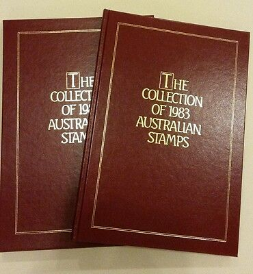 The Collection of 1983 Australian Stamps Album and Slipcase - No Stamps Included