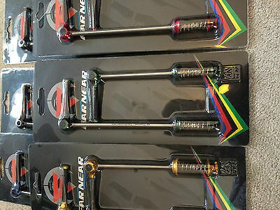 Far Near Carbon Titanium superlight tune skewers road / mtb