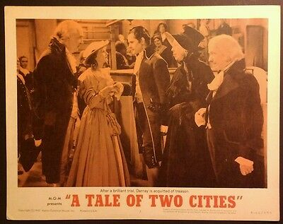 Rare 1962 Lobby Card - A Tale Of Two Cities - 11x14, Original, Nice! #3