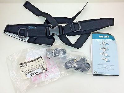 Bodypoint Scooter Wheelchair Padded Hip Belt Dual-Pull SR X-Small HB203 NEW