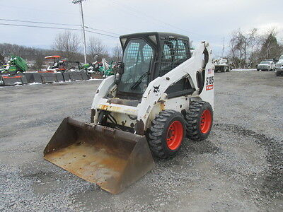 2010 Bobcat S185 Skid Steer Loader w/ Cab!