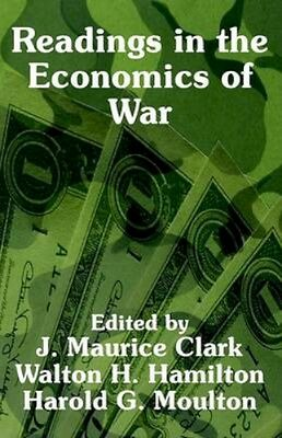 NEW Readings In The Economics Of War by John... BOOK (Paperback / softback)