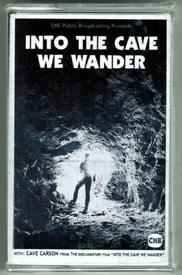 Into The Cave We Wander Cave Carson Gerard Way Cassette Tape DC Young Animals!!!