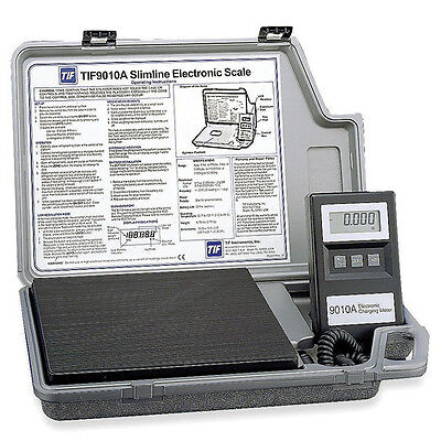 NEW TIF9010A Slimline Refrigerant Electronic Charging/Recover Scale