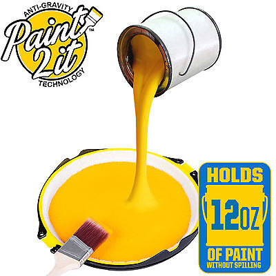 NO Spills No Drips!Paint2iT The Non Spill Paint Tray Anti-Gravity Technology NEW