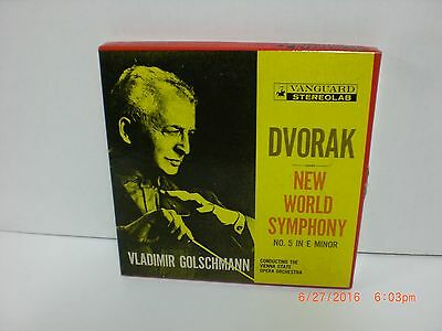 Dvorak ~ Symphony No. 5 ~ From The New World ~ 4 Track 7½ IPS  Reel To Reel Tape