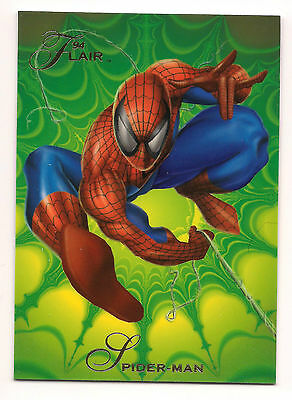 1994 Flair Marvel # 139 Spider-man base Trading Card
