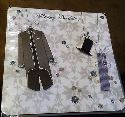 3D Greeting Card with envelope - Happy Birthday