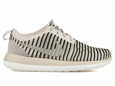 9c5750feca25 Nike Roshe Two 2 Flyknit String Neutral Olive Womens Shoes 844929-200 Size 6 -