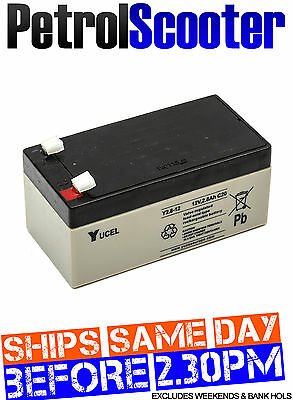 Yucel Yuasa Battery Y2.8-12 12v 2.8ah SLA Rechargeable Toy Car Emergency Light
