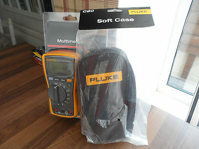 Fluke 115 Digital Multimeter ***BNIB*** and Fluke C90 case.