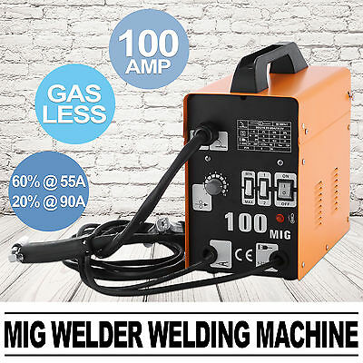 Gasless MIG Welder Welding Machine face mask professional torch wire HOT UPDATED