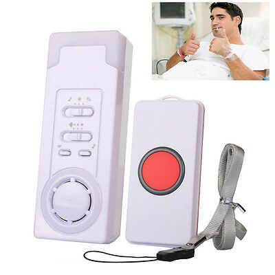 Care Nurse Call Alarm Patient Wireless Remote Home Safety Alert Pager Medical UK
