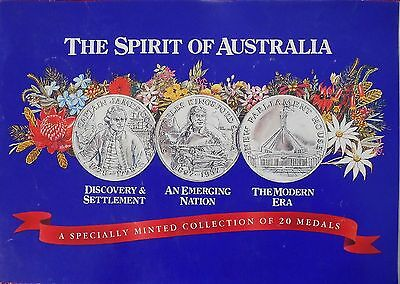 THE SPIRIT OF AUSTRALIA 200 Years Commemorative Bicentennial Medals